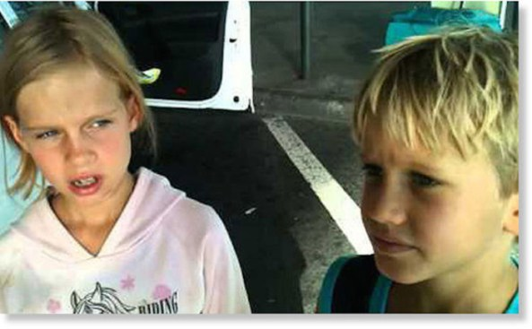 8-year old Gabriel and 9-year old Alisa - Made claims against certain individuals, parents jailed for coming forward